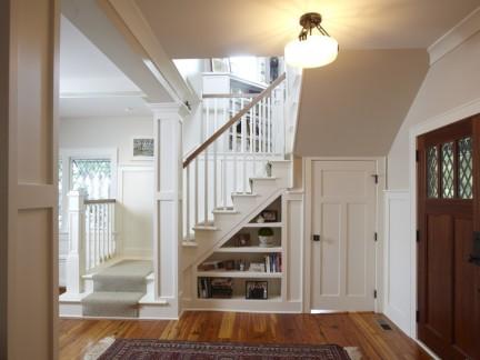 2018复式楼楼梯装修图片 房天下装修效果图