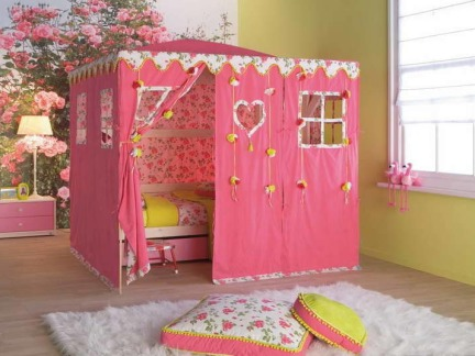 可爱儿童房间布置图片