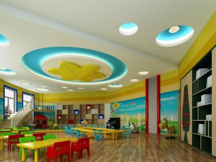幼儿园教室墙面环境布置图片大全-2018幼儿园教室桌椅摆放图片 房天