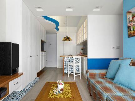 地中海小户型公寓室内装修设计