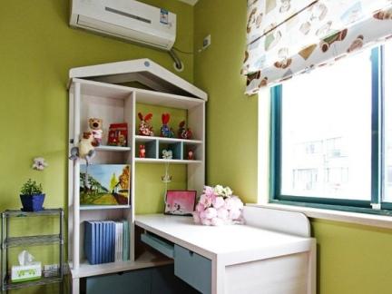 混搭装饰设计儿童书房图片