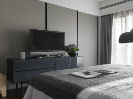 北欧设计卧室电视背景墙图片图片