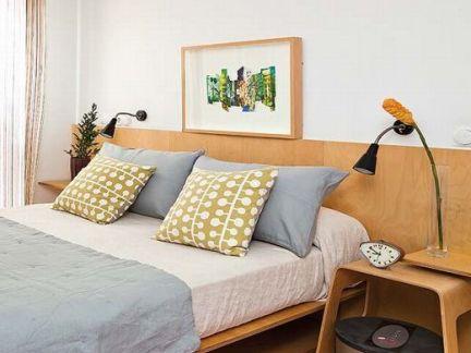 宜家卧室床头装饰画图片