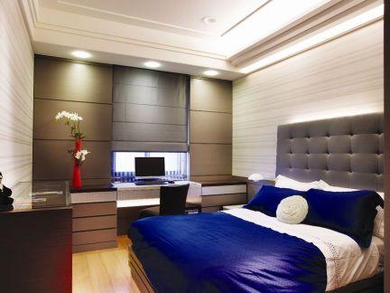 现代美式装修设计卧室图片大全