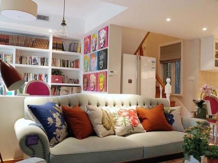 2017美式布艺沙发图片 房天下装修效果图
