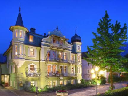 马勒别墅酒店建筑外观图片