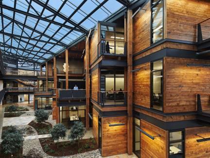 美式装饰轻钢结构厂房