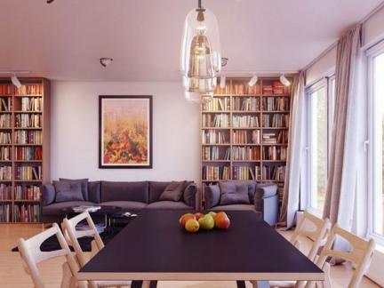 实木餐桌餐椅设计装饰图片