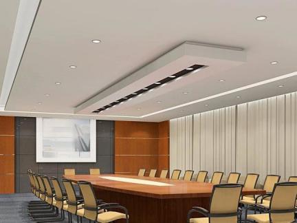 会议室吊顶装修效果图片欣赏