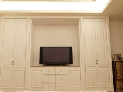 简约设计卧室电视背景墙效果图大全
