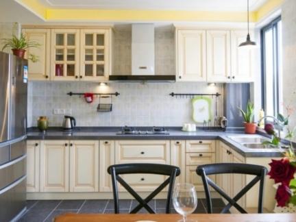 现代家庭厨房设计效果图