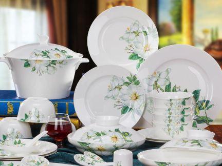中式骨瓷餐具