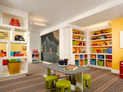 黄色创意玩具店效果图