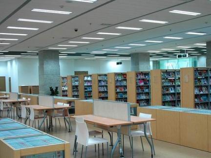2018图书馆阅览室布置-房天下装修效果图