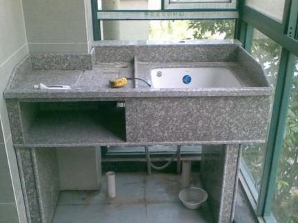 阳台家居洗衣池装修效果图片