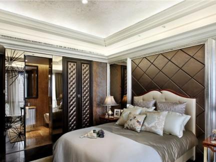 黄志达作品_西安紫汀苑T2复式样板房卧室