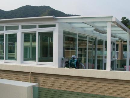 楼顶彩钢房效果图_2018楼顶花园玻璃房效果图-房天下装修效果图