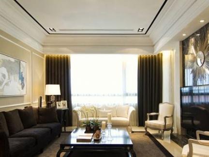 �h雄新都第一期样板房客厅-杰克文生设计