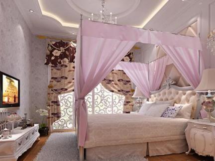 女生卧室房间装修 - 星艺装饰