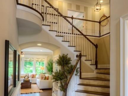 家装实木楼梯柜设计图片-搜房网装修效果图