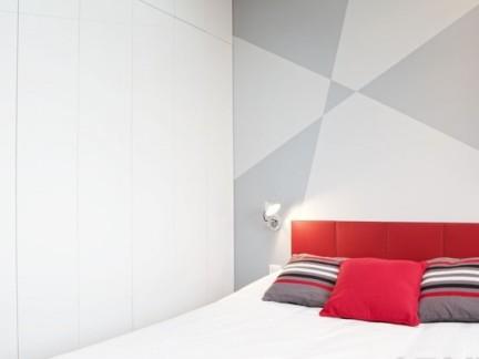 家装卧室门白色效果图