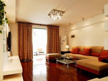 87平米简约田园小两室两厅户型样板间装修
