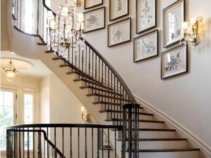 铁艺整体楼梯设计