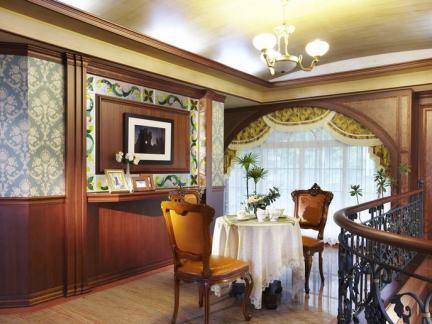 欧式室内小餐厅设计效果图片