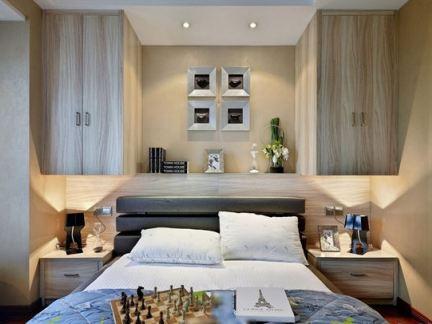 最新现代装修8平米卧室图片
