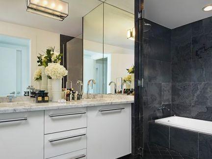 现代创意风格室内设计卫生间图片