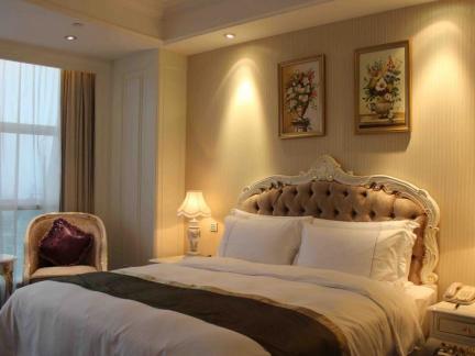 宾馆欧式房间装饰效果图欣赏