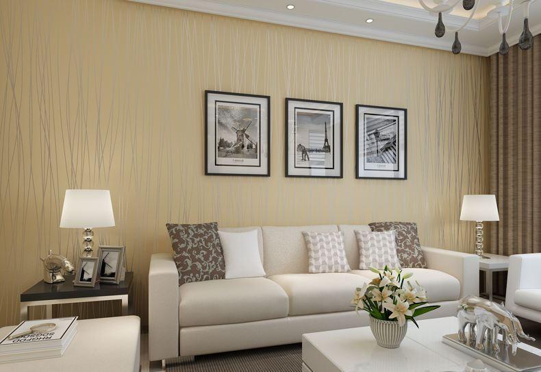 客厅背景墙布效果图图片