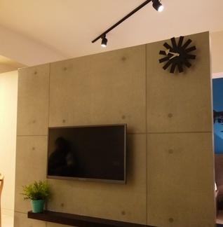 简单设计室内电视背景墙欣赏