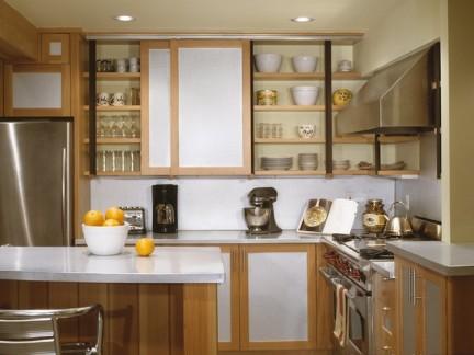 美式厨房橱柜石英石台面图片-2018美式过门石装修效果图 房天下装修