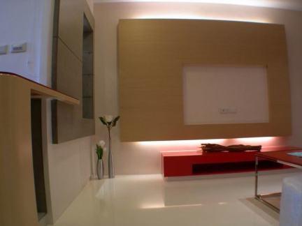现代客厅电视背景墙装饰图片欣赏