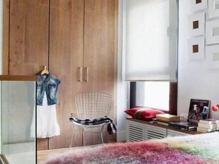 简欧风格家装卧室衣柜图片