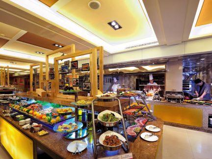 亚洲大酒店厨房装修设计图片