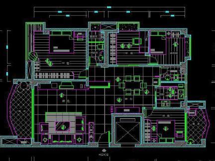 120平米自建房cad设计图-120平米自建房户型图 房天下装修效果图