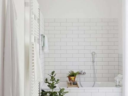 北欧家居卫生间白色瓷砖图片图片