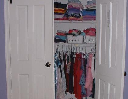 衣帽间壁柜门图片
