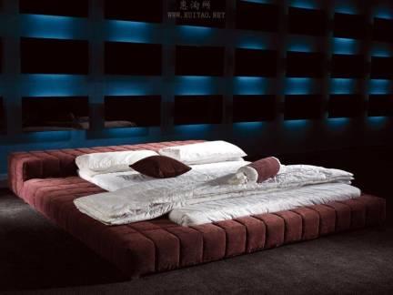 12平米卧室布艺床