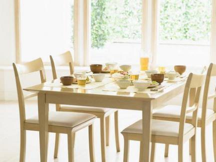 2018简约家用折叠餐桌效果图 房天下装修效果图