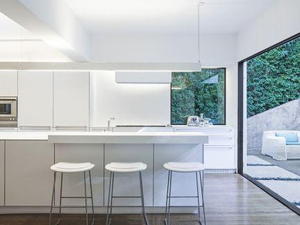 家装厨房吧台设计2014