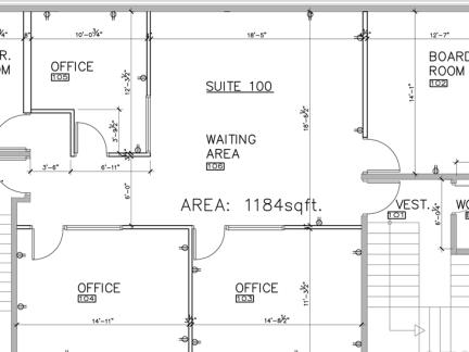 2018写字楼平面图 房天下装修效果图