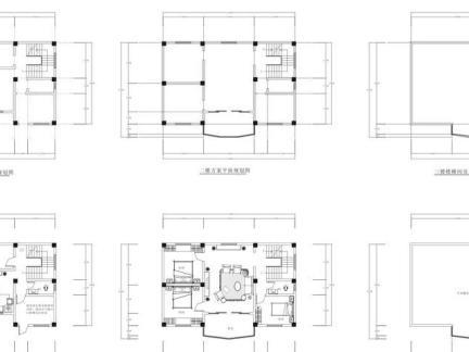 最新联排别墅设计图纸