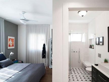 北欧风格卧室卫生间室内装修设计