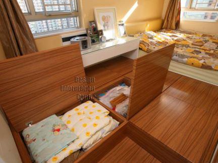 卧室地台设计效果图