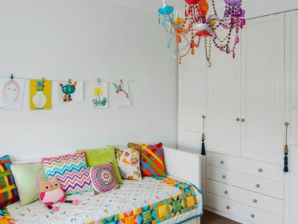 儿童房间家居设计效果图