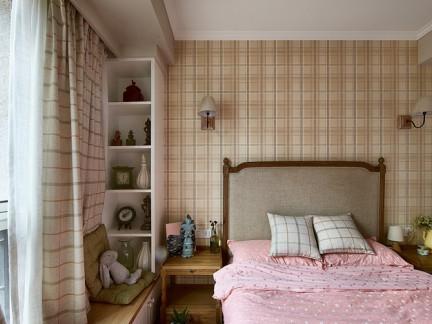 室内时尚小卧室飘窗图