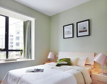 简约飘窗卧室设计效果图图片